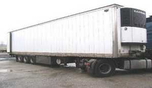 Refrigerated semi - trailer